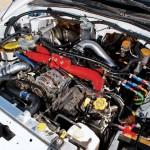Deatschwerks injectors install on Subaru STi w/ a FMIC