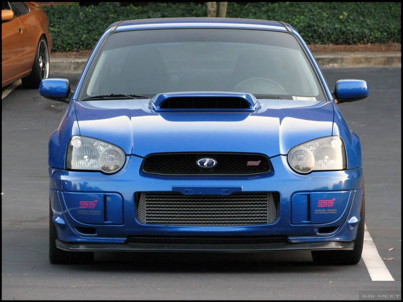 FMIC: A FMIC installed on a 2005 Subaru WRX STi.