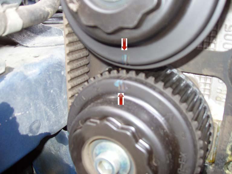 Timing Belt: Middle Left