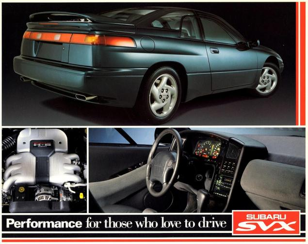 Steering Systems on early Subarus Part 1: The Subaru SVX used Subaru's early power steering system.