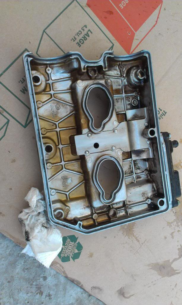 Valve cover gasket: Clean the valve covers and make sure the valve cover gasket indent is cleaned out.