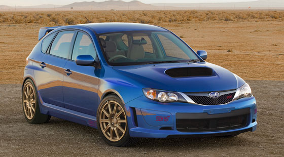 SI-Drive: he new WRX STI promises the same with it's 305- horsepower, turbocharged, intercooled Boxer engine and a six-speed manual transmission.
