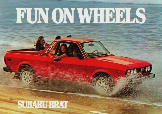 Subaru Brat: Fun on Wheels.