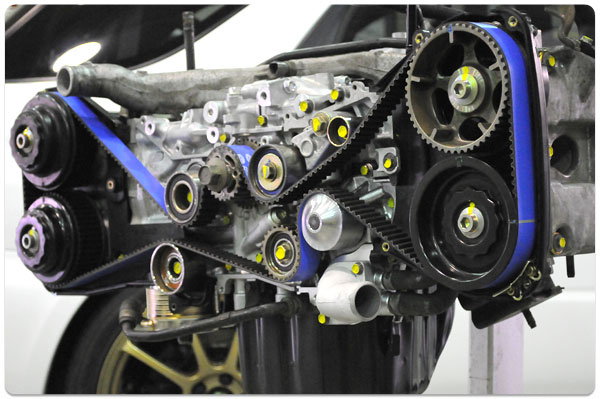 Maintenance: Subaru Periodic Vehicle Maintenance: It's always important to periodically check your Subaru's timing belt for wear and tear.