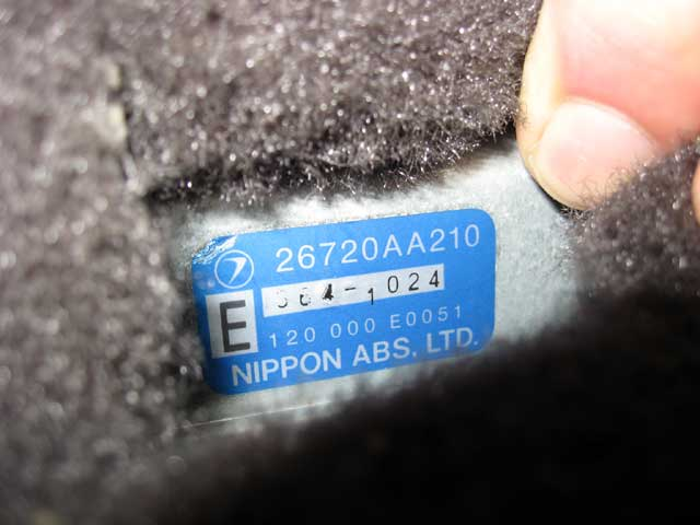 Antilock: ABS Service And Brake Bleeding Procedures: A early Subaru Nippon ABS unit ECU.