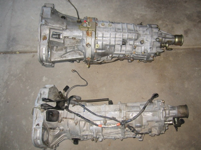 Transmission: Sti 6-Speed vs. WRX 5-speed