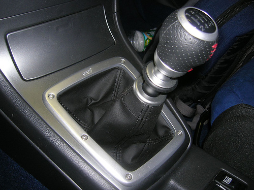OEM Short shifter: Installed and ready to go.