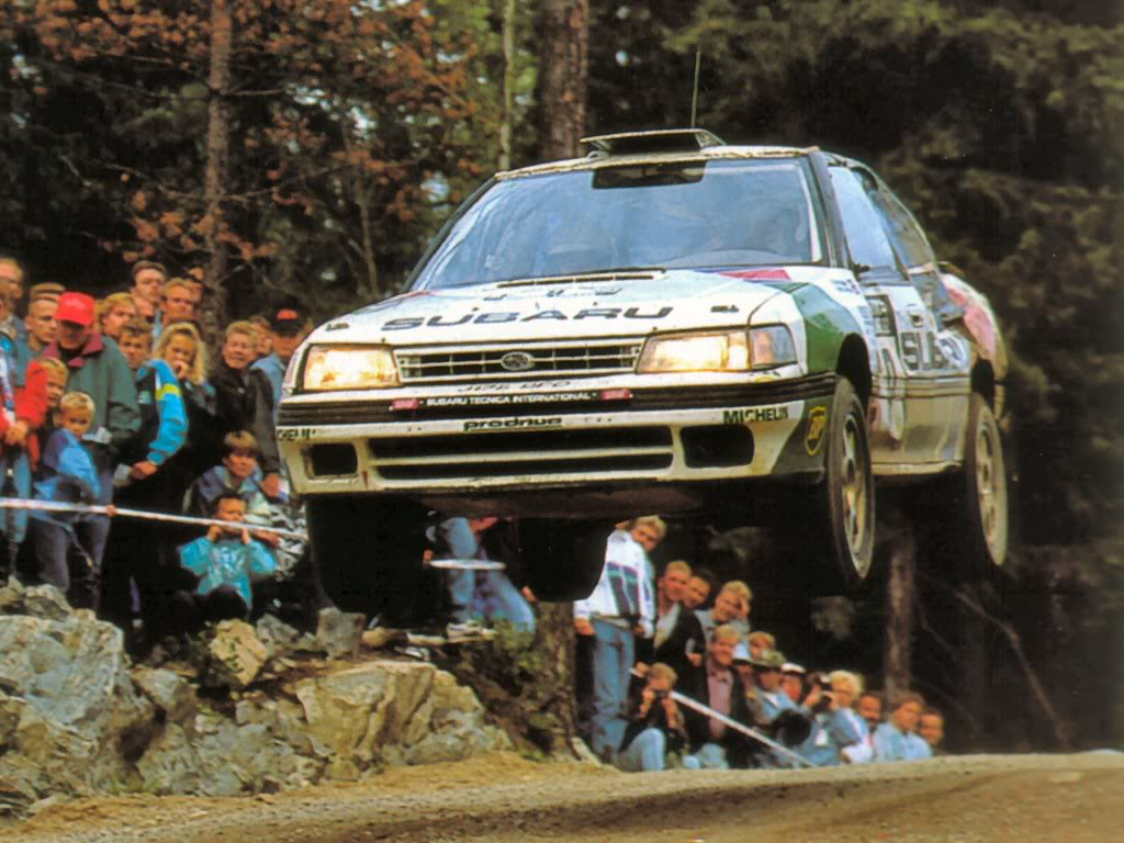 Antilock Brake System for Early Subarus: The first Subaru rally car the Legacy RS relied upon the bousch/nippon ABS units to perform on the WRC circuit.