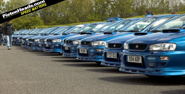 A prodrive P1 meet up in the UK.